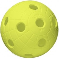 Unihoc BALL CRATER NEON YELLOW - Floorball