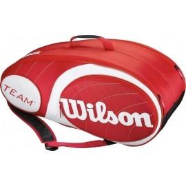 Wilson TEAM 9PK BAG RDWH
