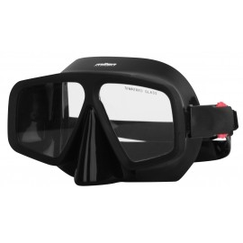 Miton MEDUSA BLACK - Rahmenlose Tauchmaske