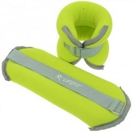 Lifefit ANKLE-WRIST WEIGHTS 2X2KG - Neopren Gewicht