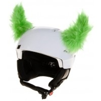 Crazy Ears GRÜNE HÖRNER - Helm-Ohren