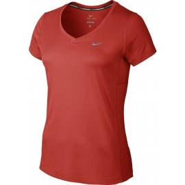 Nike MILER V-NECK - Damen Laufoberteil