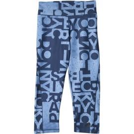 adidas WORKOUT 3/4 LENGTH TIGHT TYPO - Damen 3/4 Leggings