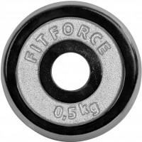 Fitforce HANTELSCHEIBE 0,5KG CHROM