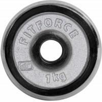 Fitforce HANTELSCHEIBE 1KG CHROM