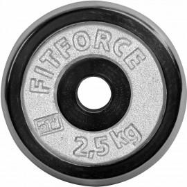 Fitforce HANTELSCHEIBE 2,5KG CHROM