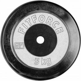 Fitforce HANTELSCHEIBE 5KG CHROM - Hantelscheibe