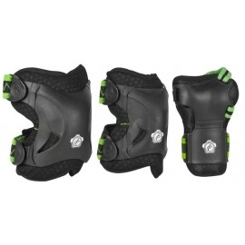 Powerslide PHUZION MEN SET - Herren Inlineskates-Schoner Set