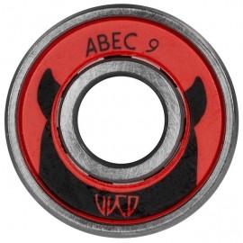 Powerslide WCD ABEC 9 FREESPIN - Ersatzkugellager Set 16 Stück