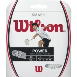 Wilson SMASH 66 WHITE - Badmintonschläger Bespannung