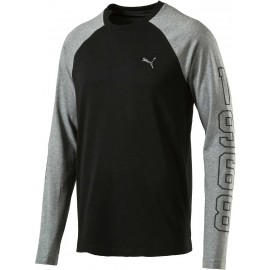 Puma ATHLETIC BASEBALL TEE - Herren T-Shirt