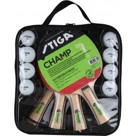 Stiga SET CHAM 4 PLAY - Tischtennisset