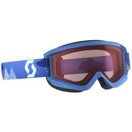 Scott JR AGENT SGL BLUE - Kinderskibrille