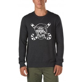 Vans M VAN DOREN HOLIDAZE BLACK HEATHER - Herren Pullover