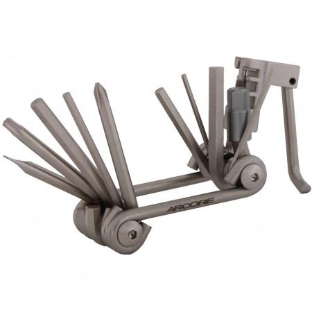AW-11 - Multischlüssel mit Kettennieter 11 in 1 - Arcore AW-11