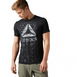 Reebok AMERICANA TEE - Herren T-Shirt