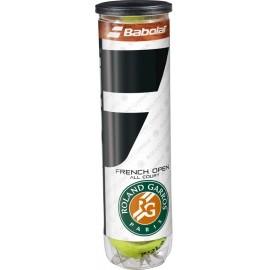 Babolat FRENCH OPEN ALL COURT X4 - Tennisbälle