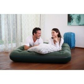 Bestway FLOCKED AIR BED GN - Aufblasbares Bett - 2 Personen