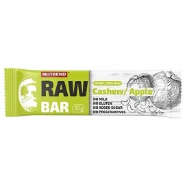 Nutrend RAW BAR 50G CESHEW+APFEL