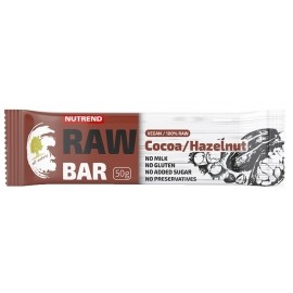 Nutrend RAW BAR 50G KAKAO+NUSS