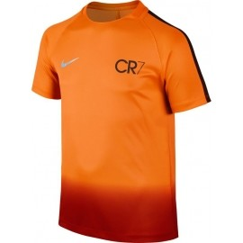 Nike CR7 Y NK DRY SQD TOP SS - Jungen Kompressionsshirt