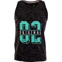 Russell Athletic SINGLET WITH CRACKED FLOCK
