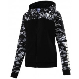 puma damen sweatshirt graphic hoody