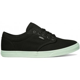 Vans WM ATWOOD LOW Pop Sole Black/Soothngsea - Damen Sneaker