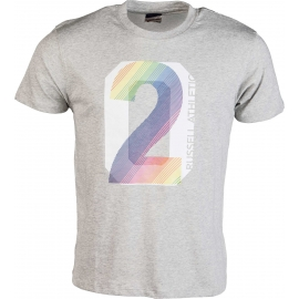 Russell Athletic CREW NECK TEE WITH MULTI COLOUR - Herren T- Shirt