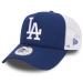 New Era TRUCKER CLEAN LOS ANGELES DODGERS