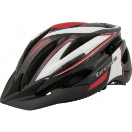 Arcore PACER-U7B BLK/WHT/RED CYKL.HELMA