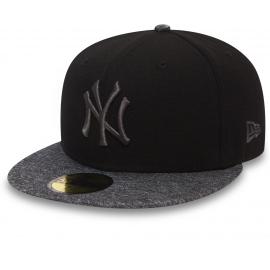 New Era 59FIFTY GREY NEW YORK YANKEES
