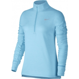 Nike W NK THRMA SPHR ELMNT TOP HZ - Damen Runningtop