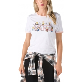 Vans PEANUTS DANCE PARTY RINGER - Damen T-Shirt Peanuts