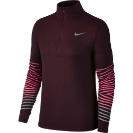 Nike W NK DRY FLSH ELMNT TOP HZ - Damen Laufshirt