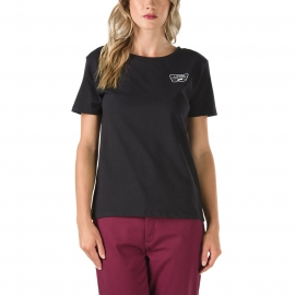Vans FULL PATCH CREW - Damen T-Shirt
