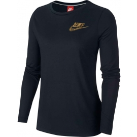 Nike NSW ESSNTL TOP LS METALLC W