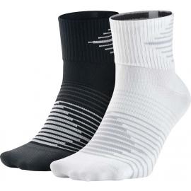Nike PERF LTWT QTR 2PR - Socken für das Laufen