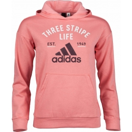 adidas KIDS HOODY GRAPHIC ROSE - Kinder Sweatshirt