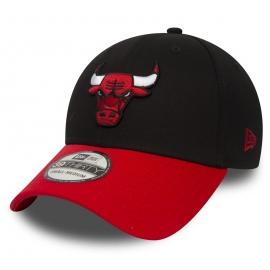 New Era 39THIRTY NBA BLACK CHICAGO BULLS - Club Schirmmütze