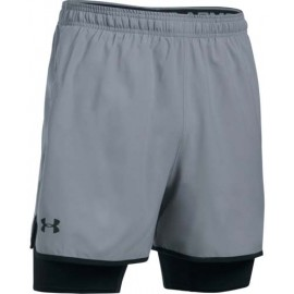 Under Armour QUALIFIER 2-IN-1 SHORT - Trainingsshorts für Herren