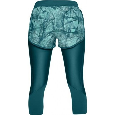 Damen Laufshorts 2 in 1 - Under Armour ARMOUR FLY FAST PRNT SHAPRI - 2