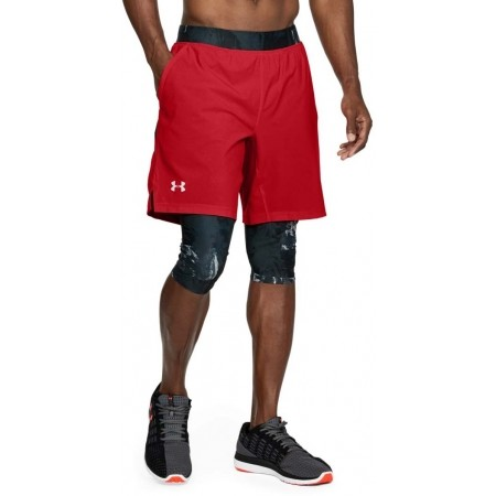 Herren Laufshorts 2 in 1 - Under Armour LAUNCH SW LONG SHORT - 4