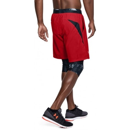 Herren Laufshorts 2 in 1 - Under Armour LAUNCH SW LONG SHORT - 5