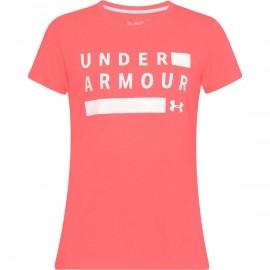 Under Armour TBORNE TRAIN GRPH TWIST SSC - Damen T-Shirt