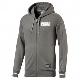 Puma STYLE ATHLETICS FZ HOODY - Herren Sweatshirt