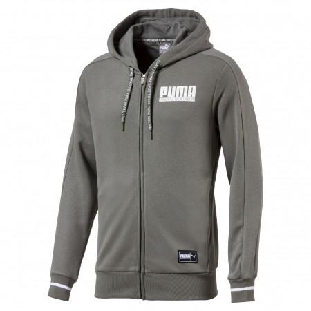 Herren Sweatshirt - Puma STYLE ATHLETICS FZ HOODY