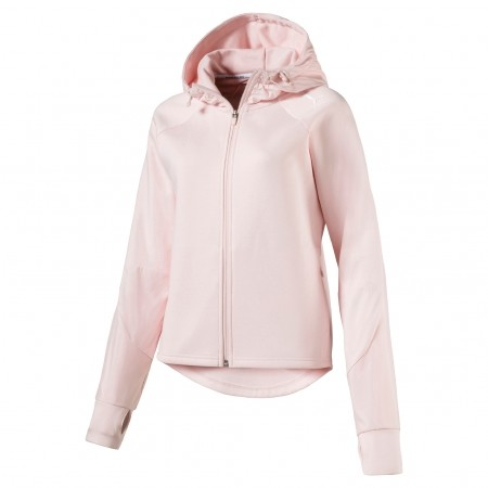 Damen Sweatshirt - Puma EVOSTRIPE FZ - 1