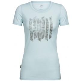 Icebreaker TECH LITE SS LOW CREWE SOUNDLESS - Damen T-Shirt