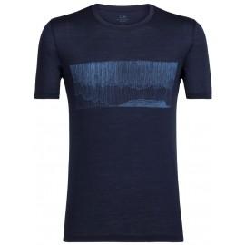 Icebreaker TECH LITE SS CREWE HARD RAIN - Herren T-Shirt